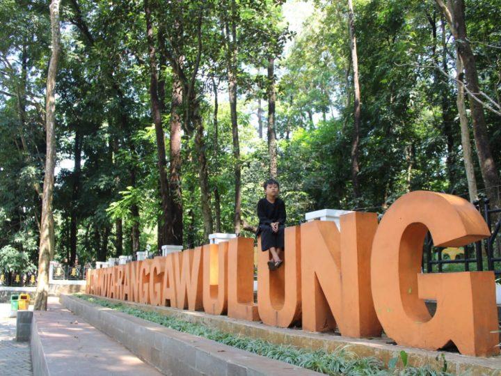 Sejuknya Hutan Kota Ranggawulung Subang
