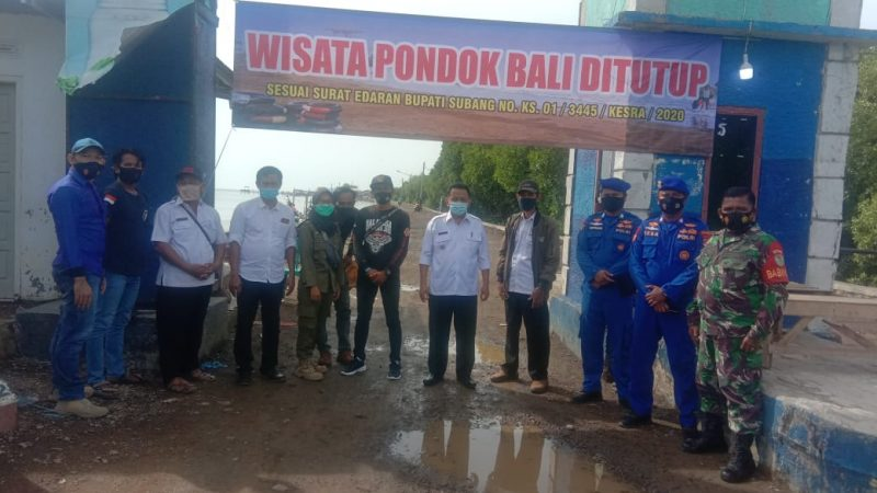 Pantai Pondok Bali Resmi Ditutup