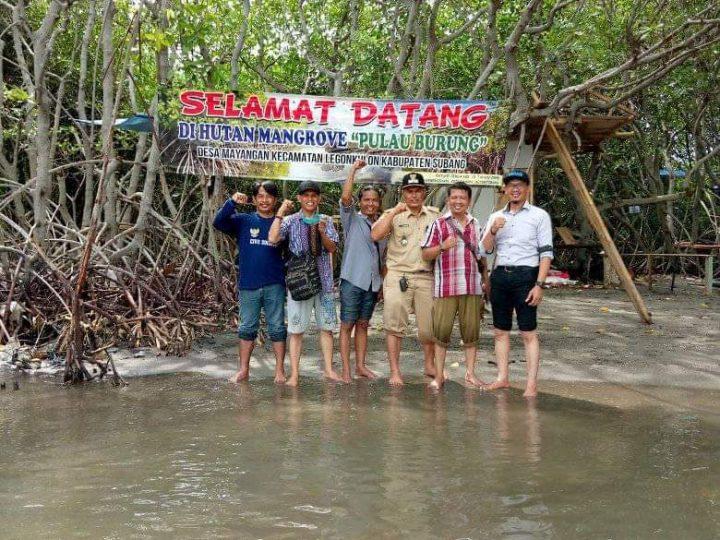 Menikmati Alam di Wisata Pulau Burung Subang