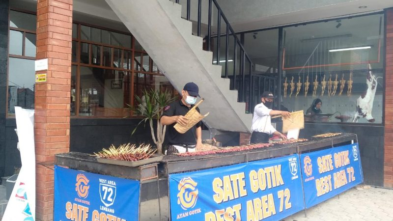 Kuy Makan Sate Gratis di Sate Gotik Lembang, Catat Tanggalnya