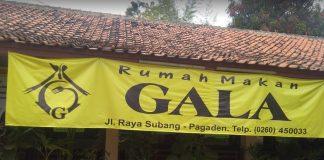 rumah makan Gala